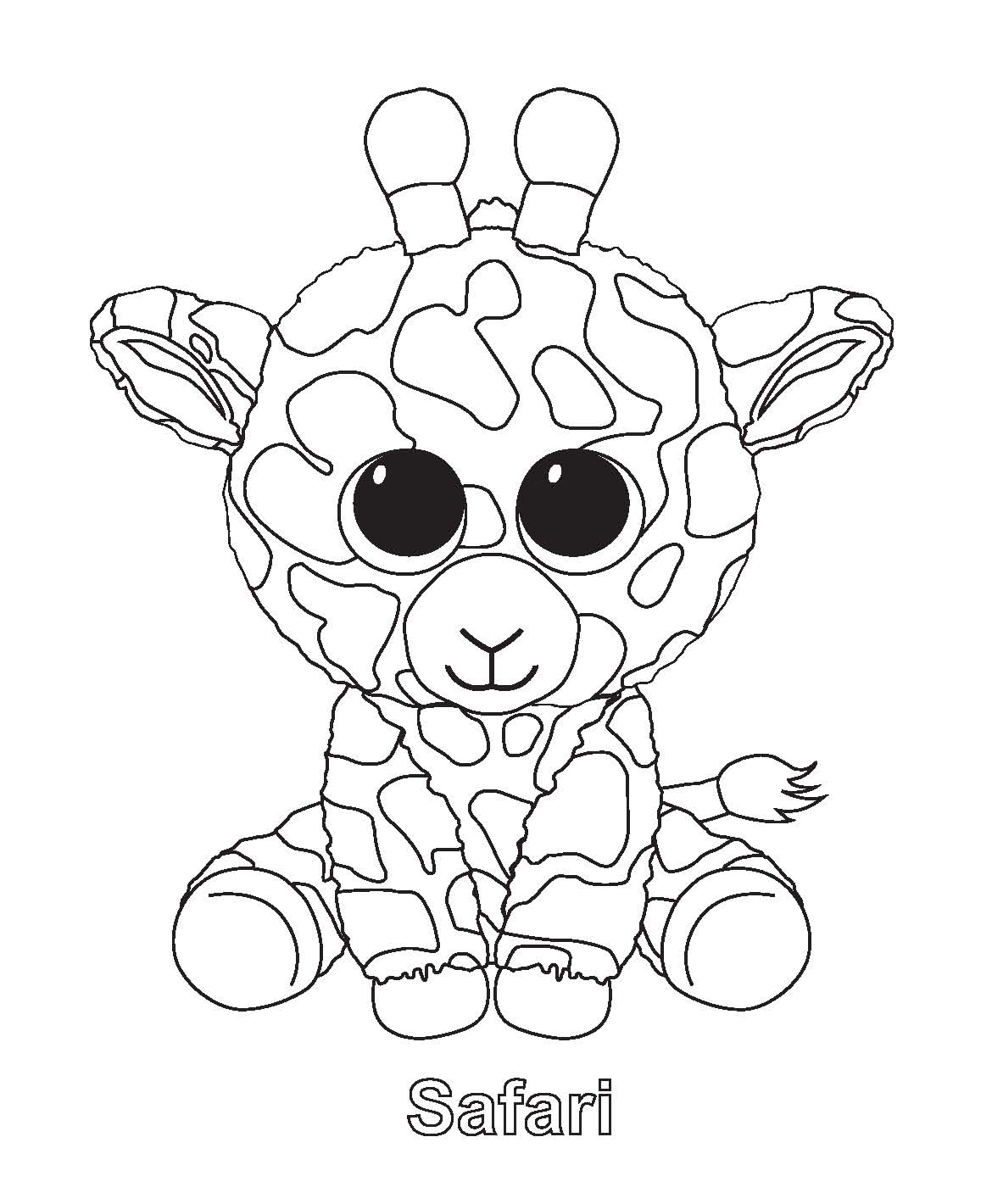 beanie baby coloring pages - photo#18