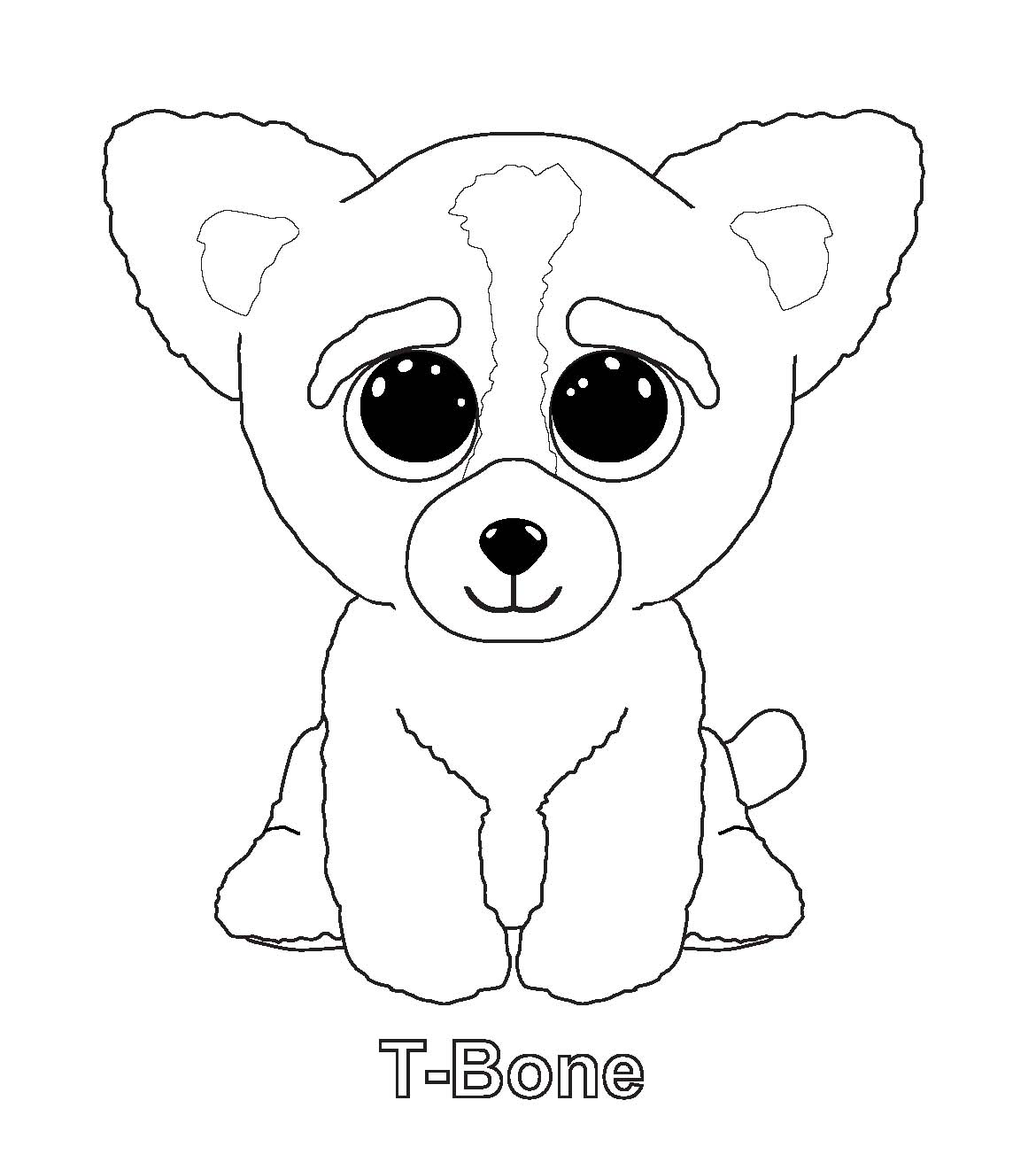 beenie baby coloring pages - photo#17