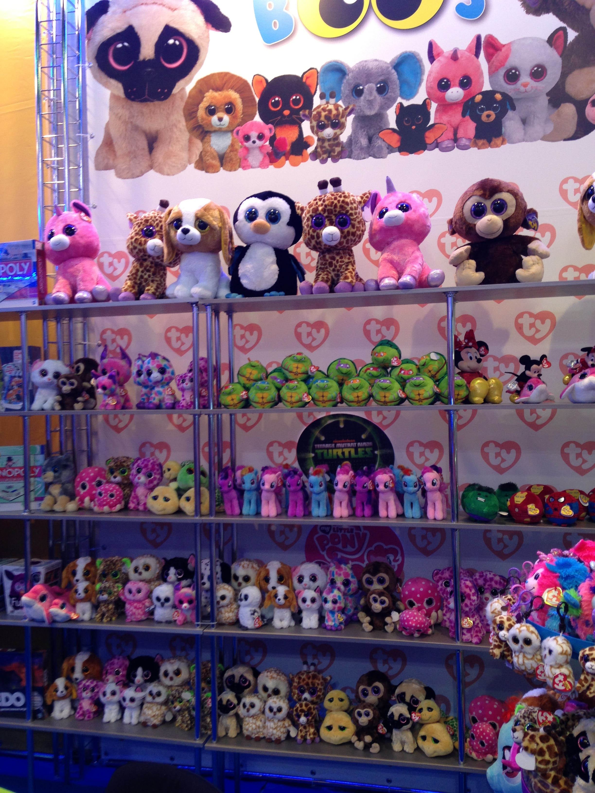 I ve been trying to find out what the BIGGEST beanie boo collection is.  This is only 111 beanie boos 79aba916f78